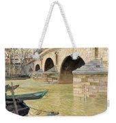 The Pont Marie. Paris Weekender Tote Bag