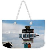 The Pony Soldier Motel On Route 66 Weekender Tote Bag