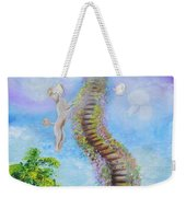 The Poodle Bridge Weekender Tote Bag