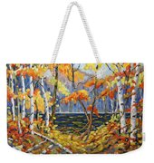 The Pool After Thompson By Prankearts Weekender Tote Bag