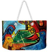 The Pool Sharks 1 Weekender Tote Bag