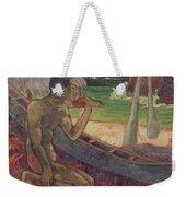 The Poor Fisherman Weekender Tote Bag