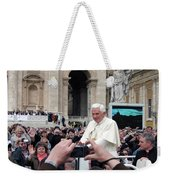 The Pope Weekender Tote Bag