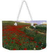 The Poppy Field Weekender Tote Bag