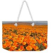 The Poppy Fields - Antelope Valley Weekender Tote Bag