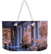 The Porch Of The European Collection Art Gallery At The Huntington Library In Infrared Weekender Tote Bag