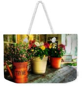 The Porch Swing Weekender Tote Bag