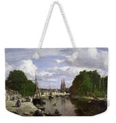 The Port At Quimper Weekender Tote Bag