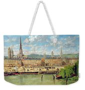 The Port At Rouen Weekender Tote Bag
