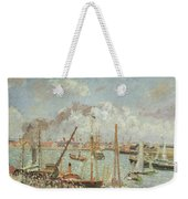 The Port Of Le Havre In The Afternoon Sun Weekender Tote Bag