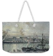 The Port Of Rouen Weekender Tote Bag