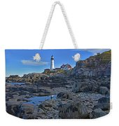 The Portland Lighthouse Weekender Tote Bag