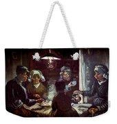 The Potato Eaters, By Vincent Van Gogh, 1885, Kroller-muller Mus Weekender Tote Bag