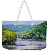 The Potomac Weekender Tote Bag by Bill Cannon