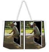 The Potter Effect - Gently Cross Your Eyes And Focus On The Middle Image Weekender Tote Bag