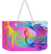 The Power And Positive Energy, 26 Weekender Tote Bag