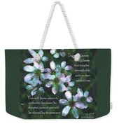 The Power In Kindness Weekender Tote Bag