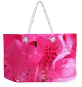 The Power Of Pink Weekender Tote Bag