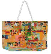 The Power Of Repentance Weekender Tote Bag