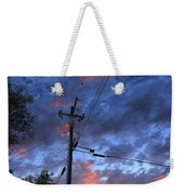 The Power Of Sunset Weekender Tote Bag