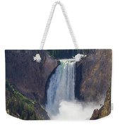 The Power Of Yellowstone Weekender Tote Bag