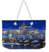 The Prague Panorama Weekender Tote Bag