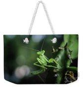 The Praying Mantis Weekender Tote Bag
