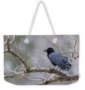 The Preening Crow Weekender Tote Bag