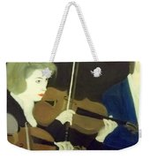 The Prettiest Violinist In The Orchestra Weekender Tote Bag