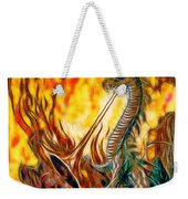 The Prince Battles The Dragon Weekender Tote Bag