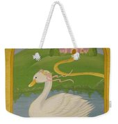 The Princess Swan Weekender Tote Bag