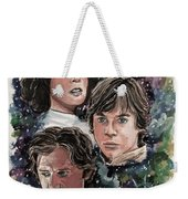 The Princess, The Knight And The Scoundrel Weekender Tote Bag