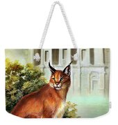 The Protector Of The City Of Petra Weekender Tote Bag