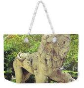 The Proud Lion  Weekender Tote Bag