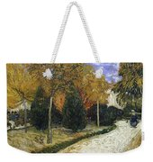 The Public Garden Weekender Tote Bag