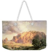The Pueblo Of Acoma In New Mexico Weekender Tote Bag