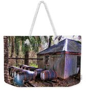 The Pumphouse Weekender Tote Bag by Douglas Barnard