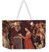 The Purification Of The Virgin 1640 Weekender Tote Bag