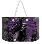 The Purple Dragon Weekender Tote Bag