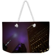 The Purple Fog Weekender Tote Bag