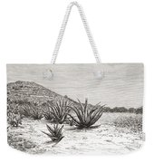 The Pyramid Of The Sun, Teotihuacan Weekender Tote Bag