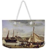 The Quay At Rouen Weekender Tote Bag
