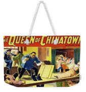 The Queen Of Chinatown Weekender Tote Bag