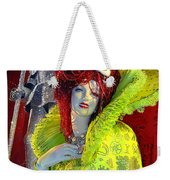 The Queen Of Fashion Weekender Tote Bag