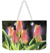 The Queen's Tulips Weekender Tote Bag