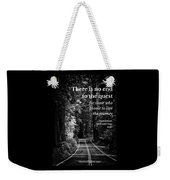The Quest I Weekender Tote Bag