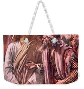 The Question Of The Sadducees Weekender Tote Bag