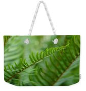 The Quiet Beauty Of Ferns Weekender Tote Bag