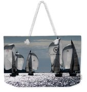 Sails Up - The Race Is On Weekender Tote Bag