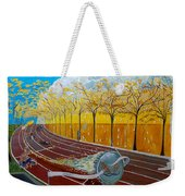 The Race Of Tumbles Weekender Tote Bag